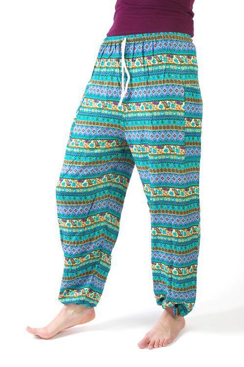 Dámské letní kalhoty PALM viskóza Thajsko TT0043 086