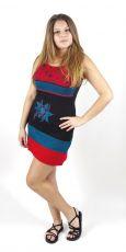 Dámské letní šaty MIMI, 100% bavlna, Nepál