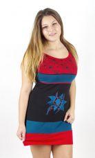 Dámské letní šaty MIMI, 100% bavlna, ruční práce Nepál NT0048-50-02 KENAVI