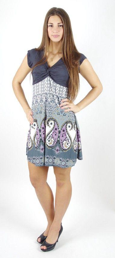Dámské letní šaty - tunika - z pružného materiálu TT0024 0 087