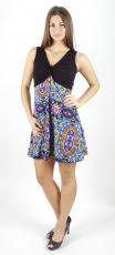 Dámské letní šaty - tunika - z pružného materiálu TT0024 0 090