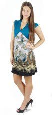Dámské letní šaty - tunika - z pružného materiálu TT0024 0 091