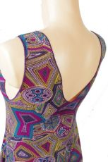 Dámské letní šaty z pružného materiálu, ležérní styl TT0024 0 079