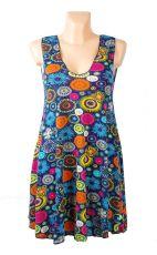 Dámské letní šaty z pružného materiálu, ležérní styl