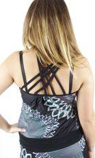 Dámské letní šaty z pružného materiálu TT0024 0 085