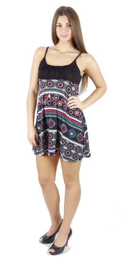 Dámské letní šaty z pružného materiálu TT0024 0 097