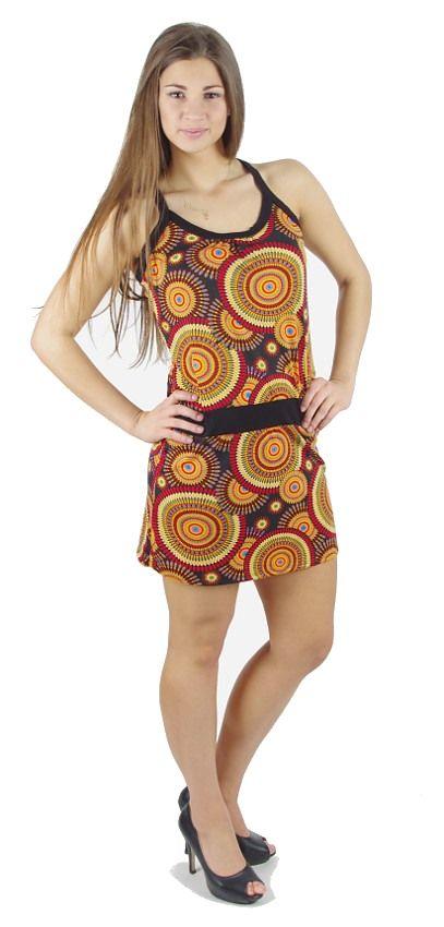 Dámské letní šaty z pružného materiálu TT0024 0 102