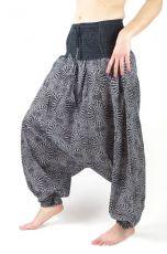 Dámské letní turecké kalhoty (harémky) INDIA DELIGHT, bavlna,  Nepál