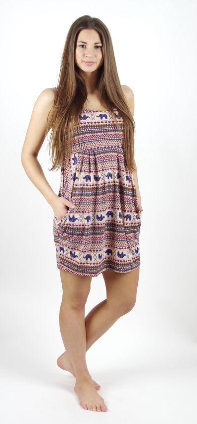 Dámské šaty JUMMY s kapsami TT0023 081
