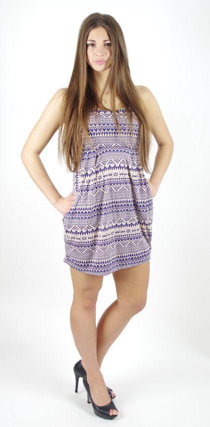 Dámské šaty JUMMY s kapsami TT0023 088