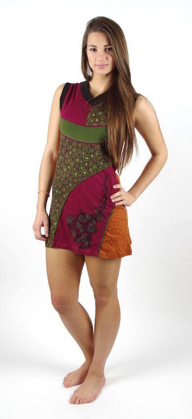 Dámské šaty Nepálu RATHANA NEO, 100% bavlna NT0048 37 003 KENAVI