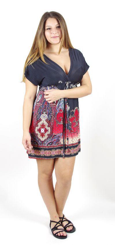 Dámské šaty - tunika - LUNA TT0023 00 007