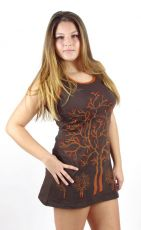 Dámské šaty z Nepálu LOVERS ORCHARD MINI NT0048-46-002 KENAVI