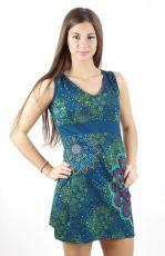 Dámské šaty z Nepálu UNIVERSE, 100% bavlna NT0048-55-002 KENAVI