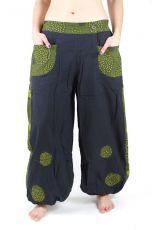 Kalhoty JAIPUR, bavlna, Nepál - rozšířené nohavice