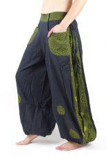 Kalhoty JAIPUR, bavlna, Nepál - rozšířené nohavice NT0053 21 012 KENAVI