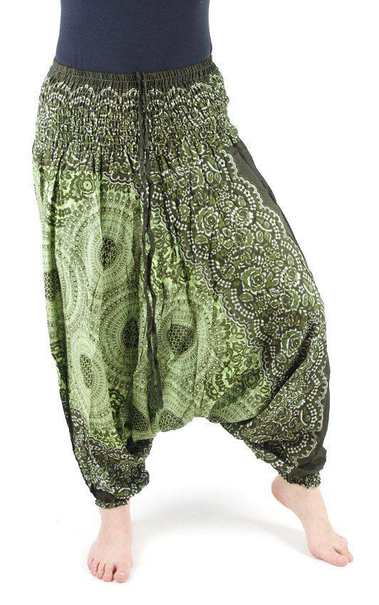 Kalhoty turecké harémové ORIGIN viskóza Thajsko TT0043 099