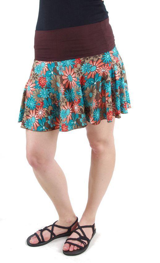 Krátká dámská letní sukně LOLA TT0102 01 009