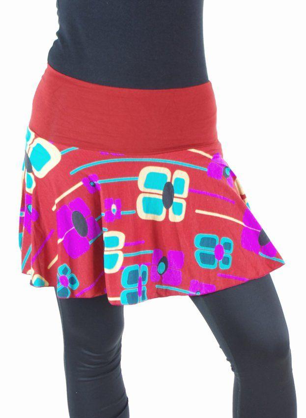 Krátká dámská letní sukně LOLA TT0102 01 013