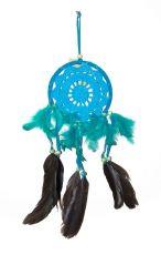 Lapač snů -  krásná dekorace, průměr kruhu 12 cm