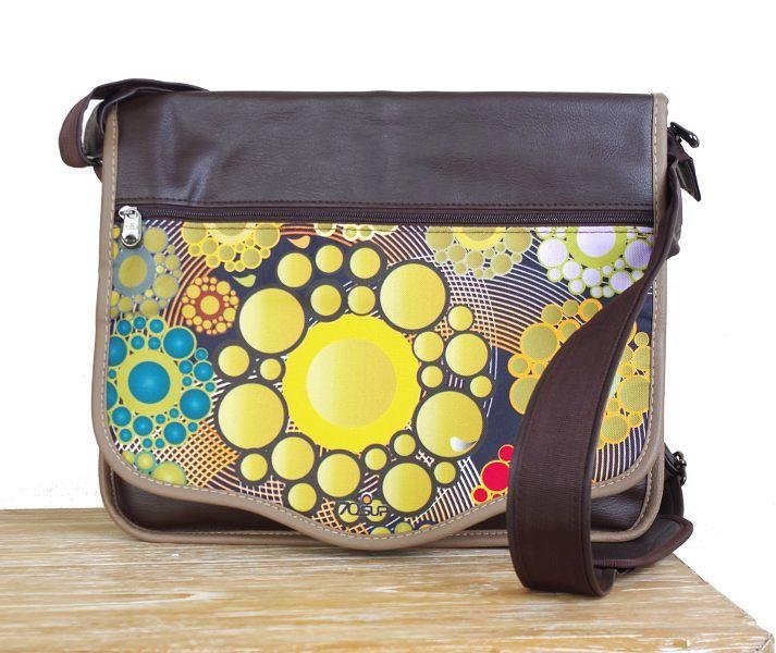 Laptop taška - office taška přes rameno z odolnějšího materiálu TT0105 02 001