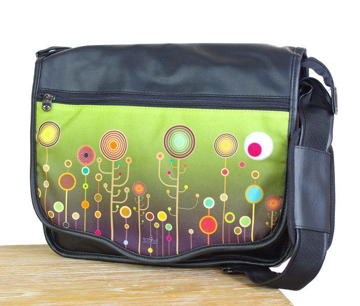 Laptop taška - office taška přes rameno z odolnějšího materiálu TT0105 02 006