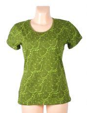 Tričko FULLPRINT 1, 100% bavlna, ruční tisk Nepál