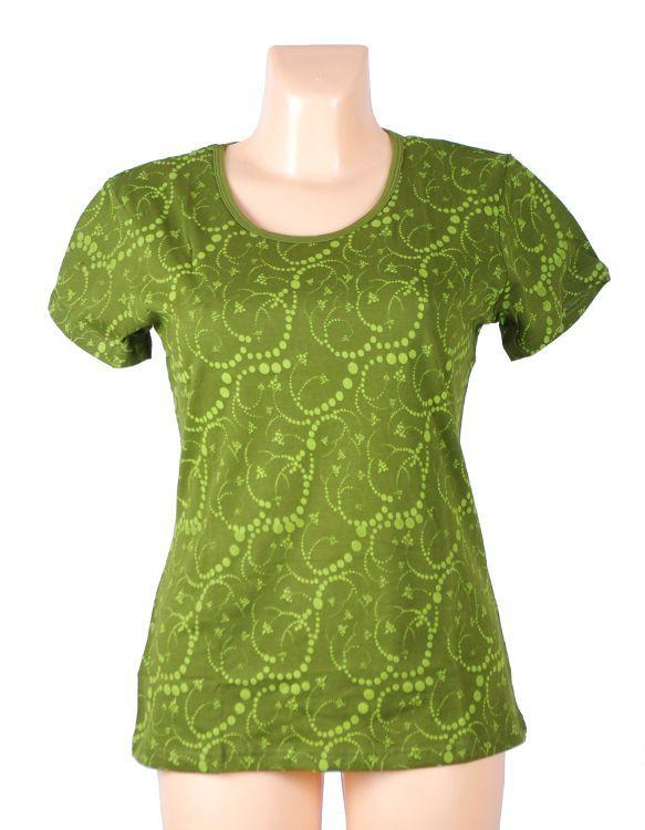 Tričko FULLPRINT 1, 100% bavlna, ruční tisk Nepál NT0100 31 001 KENAVI