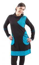 Dámské šaty - tunika NICO dlouhý rukáv, ruční práce Nepál