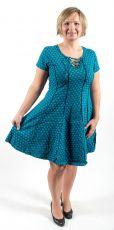Šaty - tunika CANDY STRIPE - 100% bavla z Nepálu