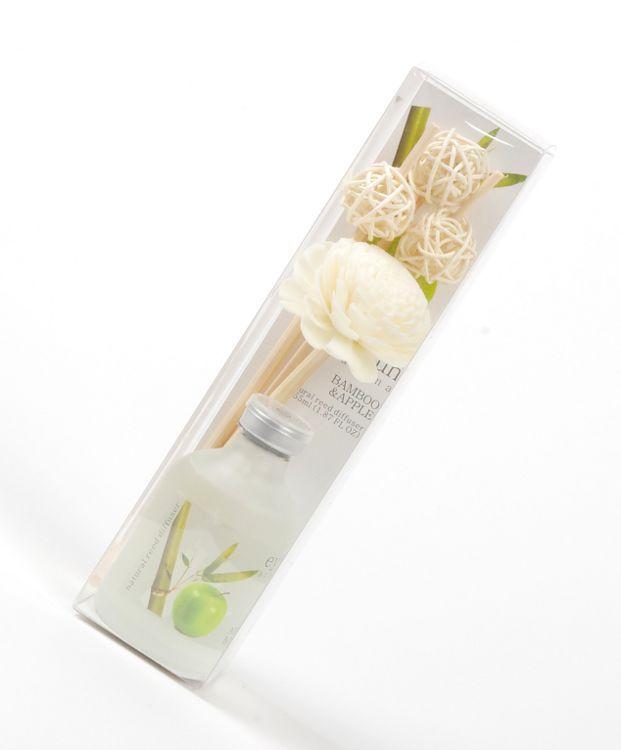 Bytový parfém - difuzér tyčinkový EYUN bambus s jablkem TD0043 002