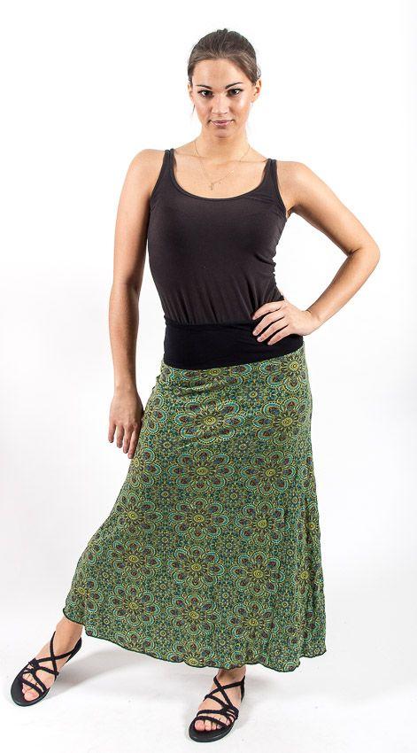 Dámská dlouhá sukně LILY LONG z letního materiálu TT0100 01B 005