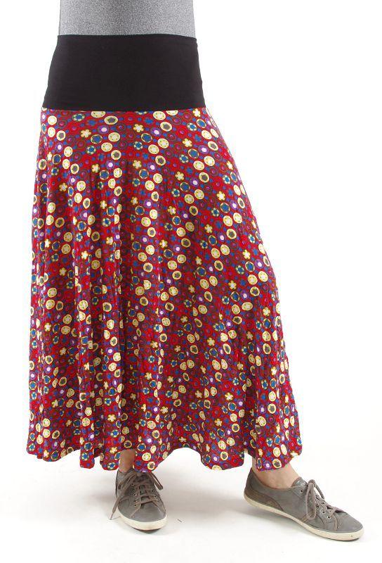Dámská dlouhá sukně LOLA LONG z letního materiálu TT0100 01 026