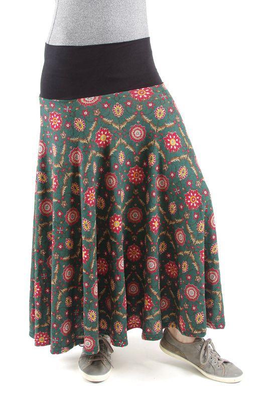 Dámská dlouhá sukně LOLA z teplejšího materiálu TT0100 01 029