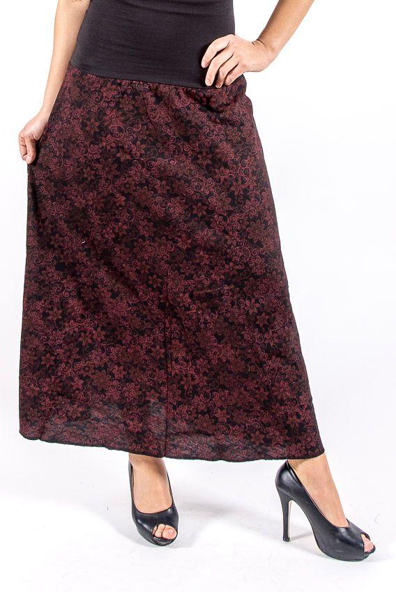 Dámská letní dlouhá sukně LA PAZ, bavlna Nepál NT0120 02 005 KENAVI