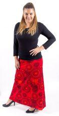 Dámská letní dlouhá sukně PLAZA, bavlna Nepál