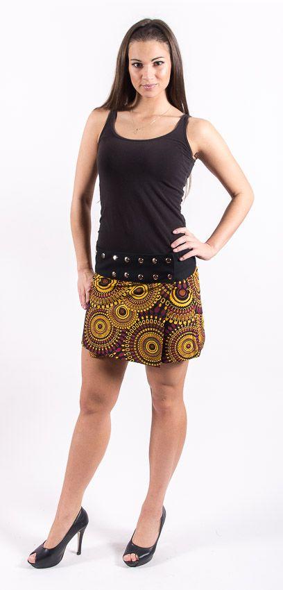Dámská letní krátká sukně CORRIDA, bavlna Nepál NT0101 12 001 KENAVI