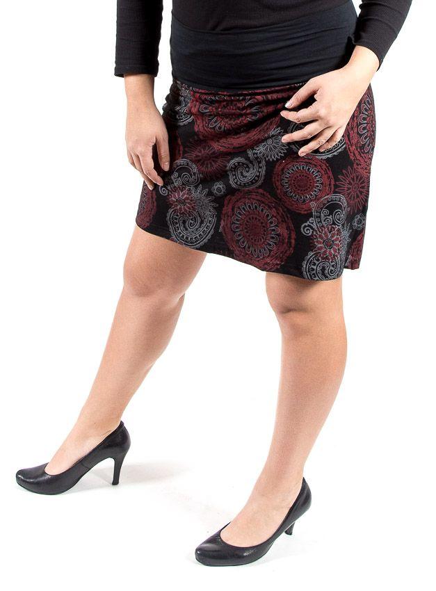 Dámská letní krátká sukně PLAZA, bavlna Nepál NT0101 14 008 KENAVI
