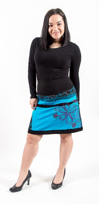 Dámská letní krátká sukně VIRGINIA, bavlna Nepál NT0101 16 001 KENAVI