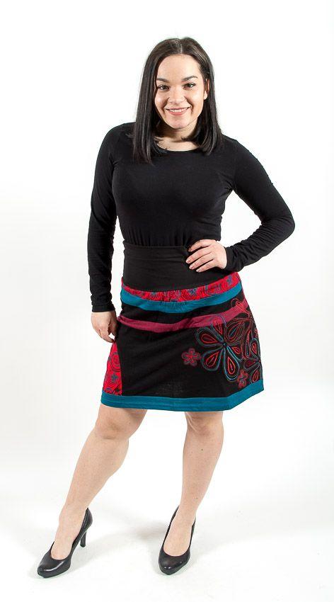 Dámská letní krátká sukně VIRGINIA, bavlna Nepál NT0101 16 003 KENAVI