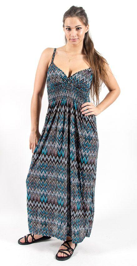 Dámské letní šaty COMET LONG TT0023 05 012