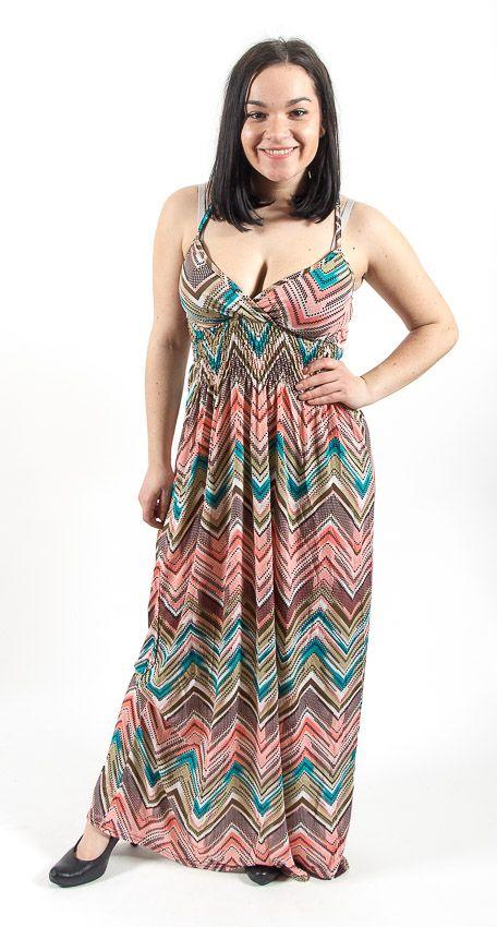 Dámské letní šaty COMET LONG TT0023 05 014