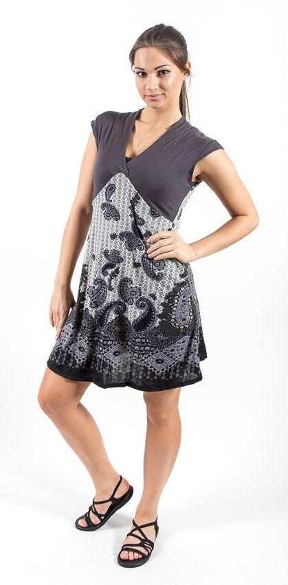 Dámské letní šaty - tunika - z pružného materiálu TT0024 0 114