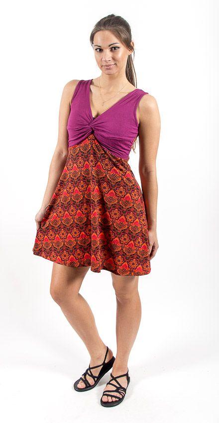 Dámské letní šaty - tunika - z pružného materiálu TT0024 0 117
