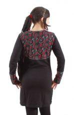 Dámské šaty - tunika CINDY dlouhý rukáv, ruční práce Nepál NT0048-63-001 KENAVI