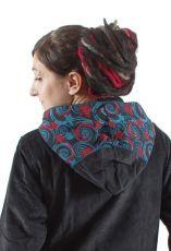 Dámský manchesterový kabátek FEMINI s kapucí NT0014 14 003 KENAVI
