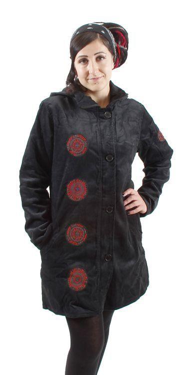 Dámský manchesterový kabátek ZARA s kapucí NT0014 16 00 KENAVI