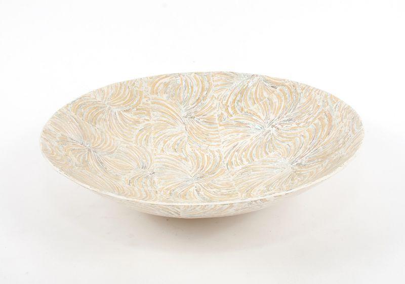 Dekorační talíř vykládaný perletí v resinu (obě strany) 37 cm ID1606506
