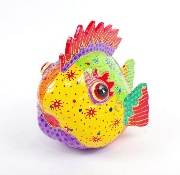 Dekorativní ryba z kokosového ořechu ID1602607