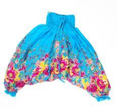 Dětské letní turecké kalhoty harémové  BABY ORIGIN vel. 8